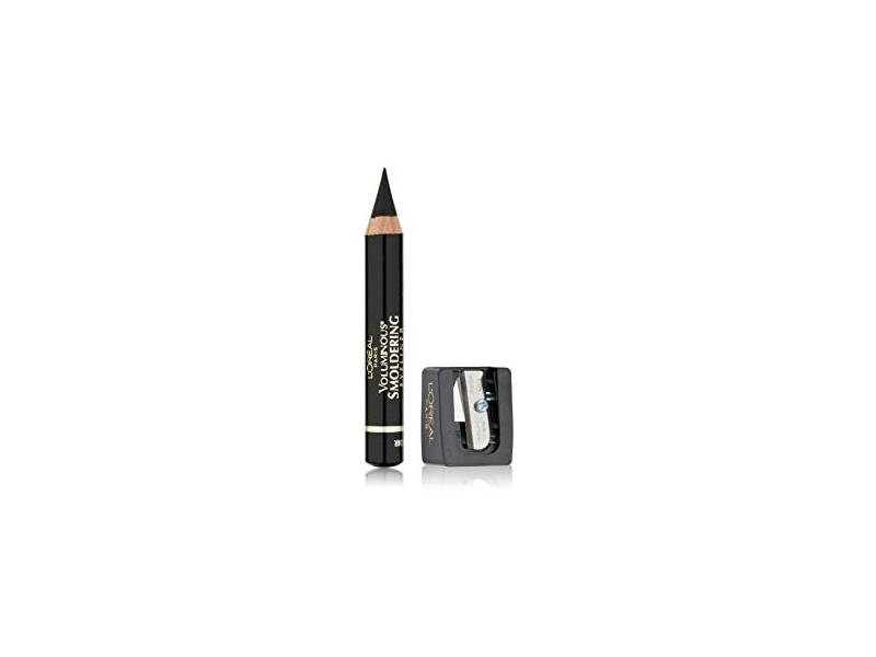 L'Oreal Paris Voluminous Smoldering Eyeliner, Black, 0.087 oz