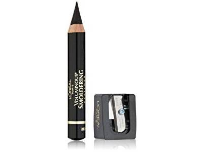L'Oreal Paris Voluminous Smoldering Eyeliner, Black, 0.087 oz - Image 1