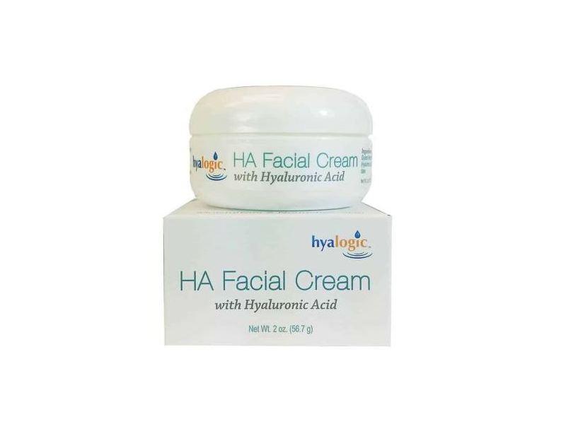 Hyalogic HA Facial Cream With Hyaluronic Acid, 2 oz