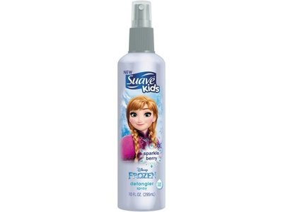 Suave Kids Detangler Spray Disney Frozen Anna Sparkle Berry, 10 Ounce