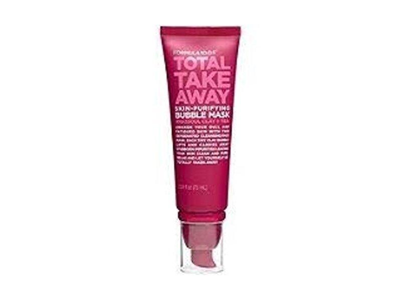 FORMULA 10.0.6 Total Take Away Skin-Purifying Clay + Tea Bubble Mask, 2.54 fl oz