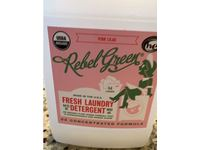 Rebel Green Fresh Laundry Detergent, Pink Lilac, 64 Loads, 64 fl oz - Image 3