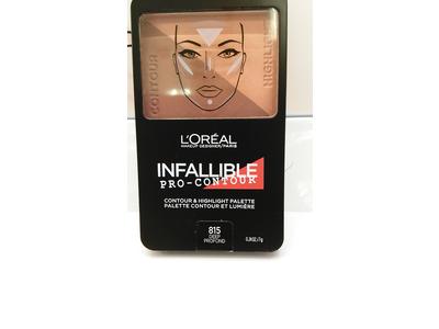 L'Oréal Paris Infallible Pro Contour Palette, Deep/Profound, 0.24 oz. - Image 6