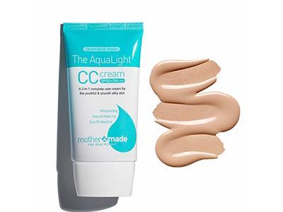 MOTHER MADE The AquaLight CC Cream SPF 50+ UVA & UVB, Natural Beige