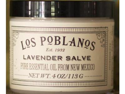Los Poblanos Lavender Salve, 4 oz