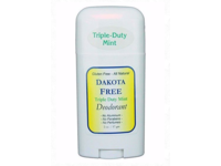 Dakota Free Triple-Duty Mint Deodorant, 2 oz - Image 2