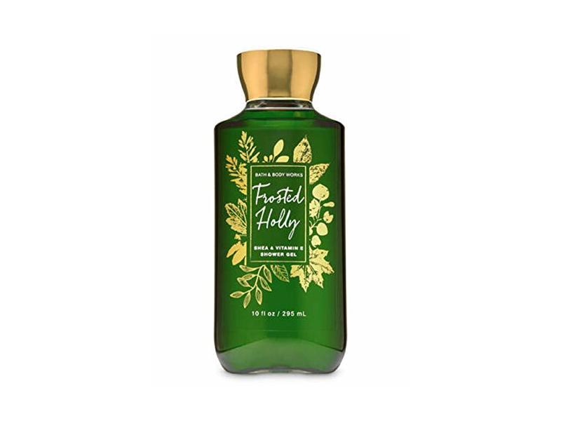 Bath & Body Works Frosted Holly Shower Gel Wash, 10 oz