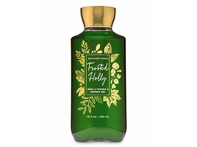 Bath & Body Works Frosted Holly Shower Gel Wash, 10 oz