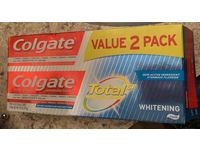 Colgate Total Whitening Toothpaste, 4.8 oz, Pack Of 2 - Image 3