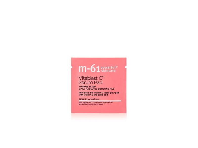 M-61 Powerful Skincare Vitablast C Serum Pad