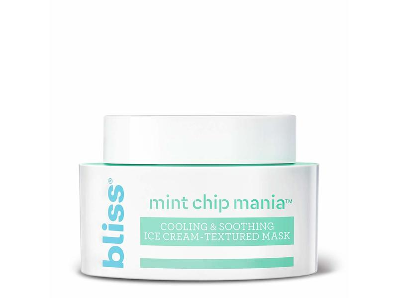 Bliss Mint Chip Mania: Cooling & Soothing Ice Cream-Textured Mask