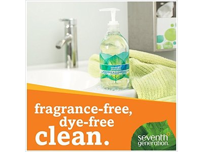 Seventh Generation Hand Wash, Free and Clean, 12 Ounce - Image 5