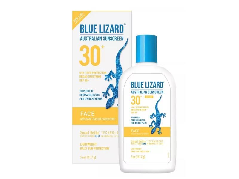 Blue Lizard Australian Face Suncreen SPF 30