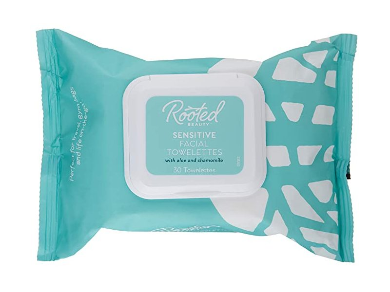 Rooted Beauty Sensitive Facial Towelettes