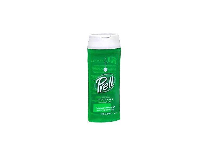 Prell Classic Clean Shampoo, 13.5oz Each (Pack of 2)