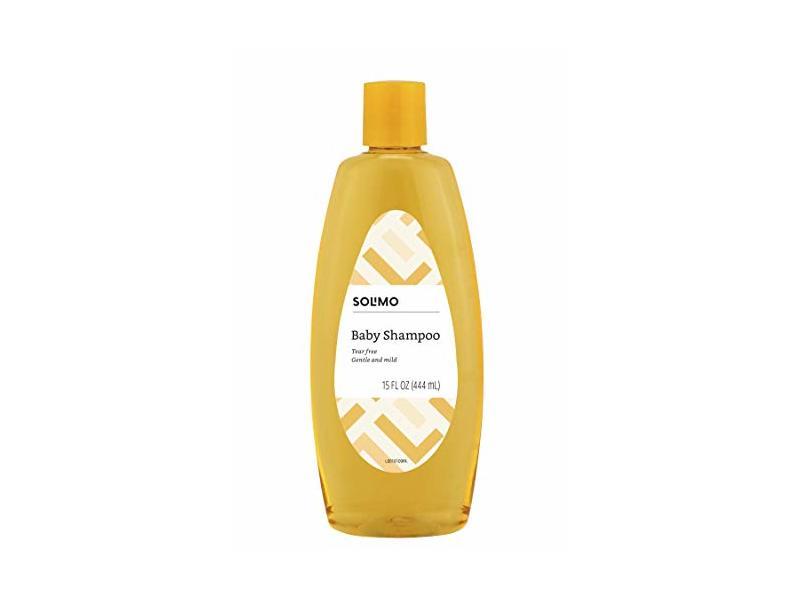 Solimo Tear-Free Baby Shampoo, 15 fl oz