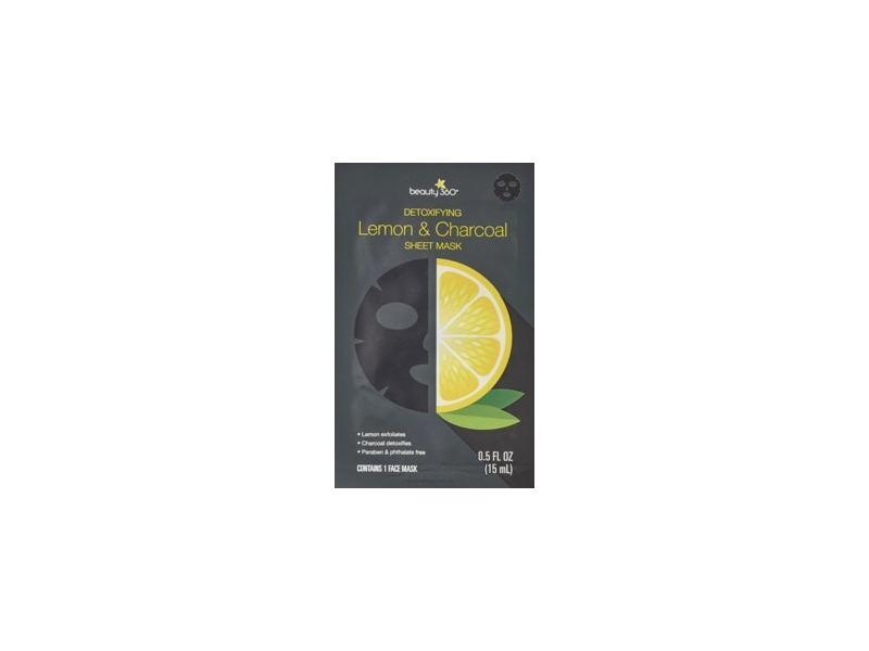 Beauty 360 Citrus Lemon & Charcoal Sheet Mask