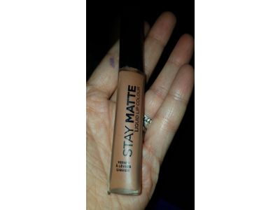 Rimmel Stay Matte Lip Liquid, Moca, 0.21 Fluid Ounce - Image 3