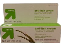 Up &Up Maximum Strength Hydrocortisone 1% Cream, Soothing Aloe, 1 oz - Image 2