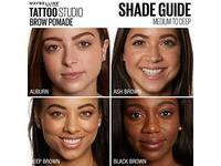 Maybelline New York Tattoo Studio Brow Pomade Medium Brown 0.106 Ounce - Image 15