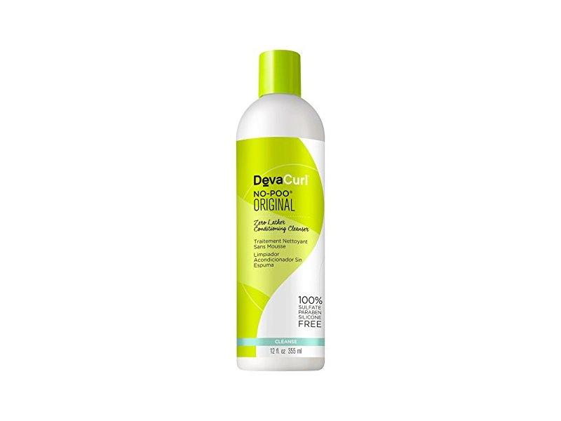DevaCurl No Poo-Zero Lather Conditioning Cleanser, 12 fl oz