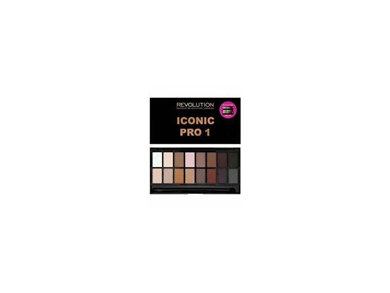 bf43d2e10d8b Makeup Revolution Eyeshadow Palette, Iconic Pro 1 Ingredients and ...
