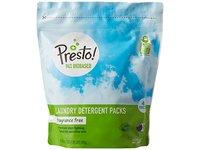 Presto! 94% Biobased Laundry Detergent Packs, Fragrance Free, 90 Loads (2-pack, 45 each) - Image 5