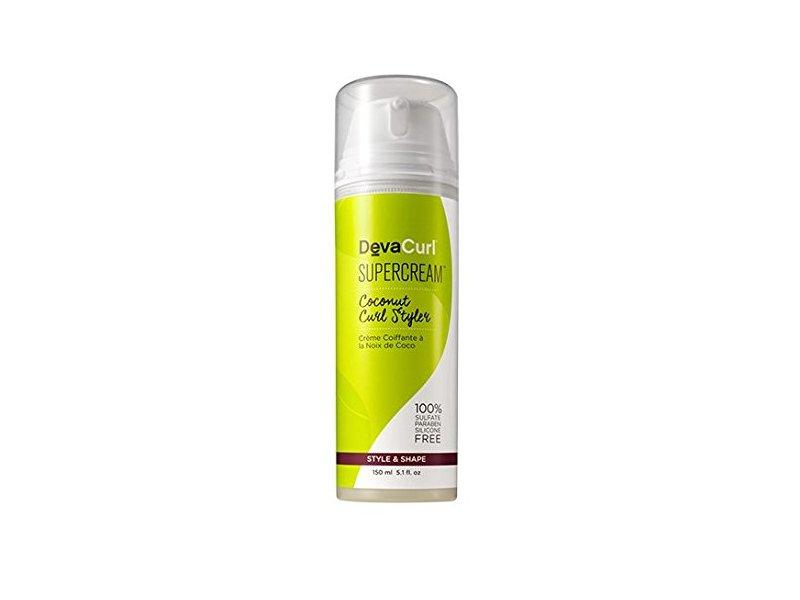 Deva Curl Supercream Coconut Curl Styler Cream, 5.1 Ounce