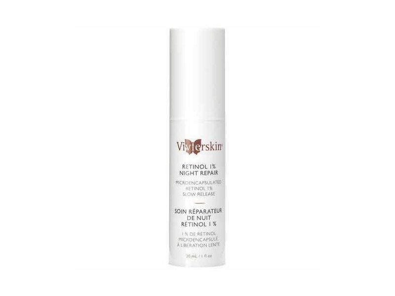 VivierSkin Retinol 1 Percent Night Repair Cream, 1 Fluid Ounce