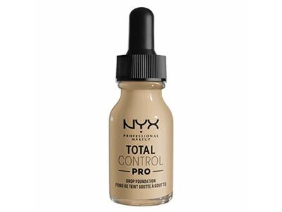 Nyx Professional Makeup Total Control Pro Drop Foundation, Nude, 0.43 fl oz/13 mL