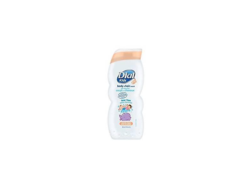 Dial Kids Body Wash, Peachy Clean, 12 ounce