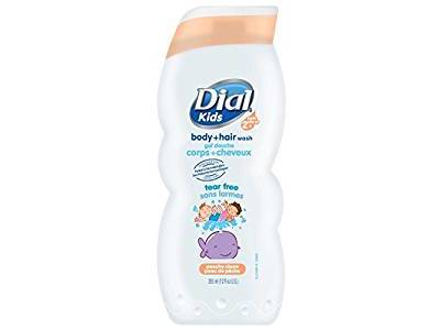 Dial Kids Body Wash, Peachy Clean, 12 ounce