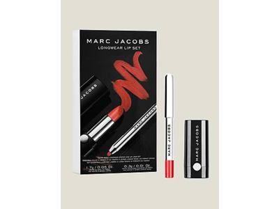 Marc Jacobs Beauty On the Fly Lip Kit, 0.01 oz