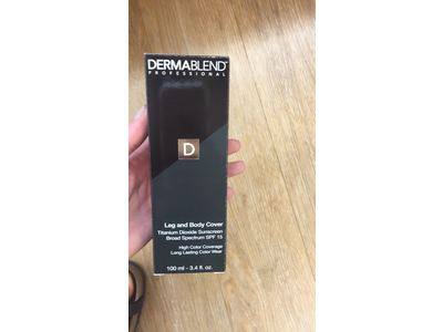 Dermablend Leg and Body Cover, SPF 15, Golden, 3.4 oz - Image 6