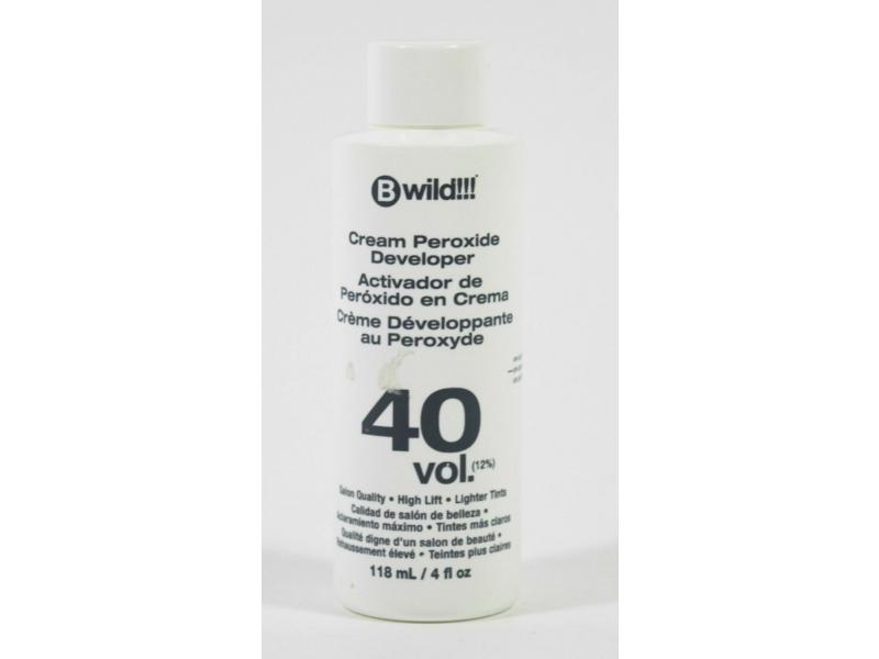 Jerome Russell Bwild Cream Peroxide Developer 40 Vol, 4 fl oz