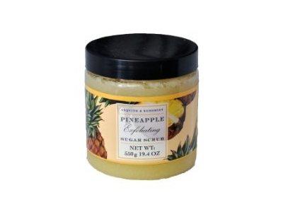 Asquith & Somerset Exfoliating Sugar Scrub, Pineapple, 19.4 oz