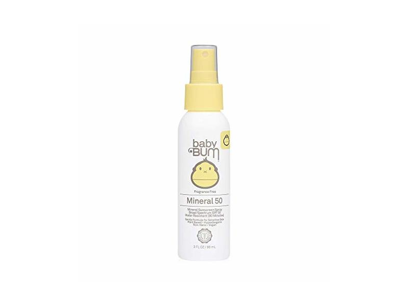 Sun Bum Baby Bum SPF 50 Sunscreen Spray, 3 fl oz