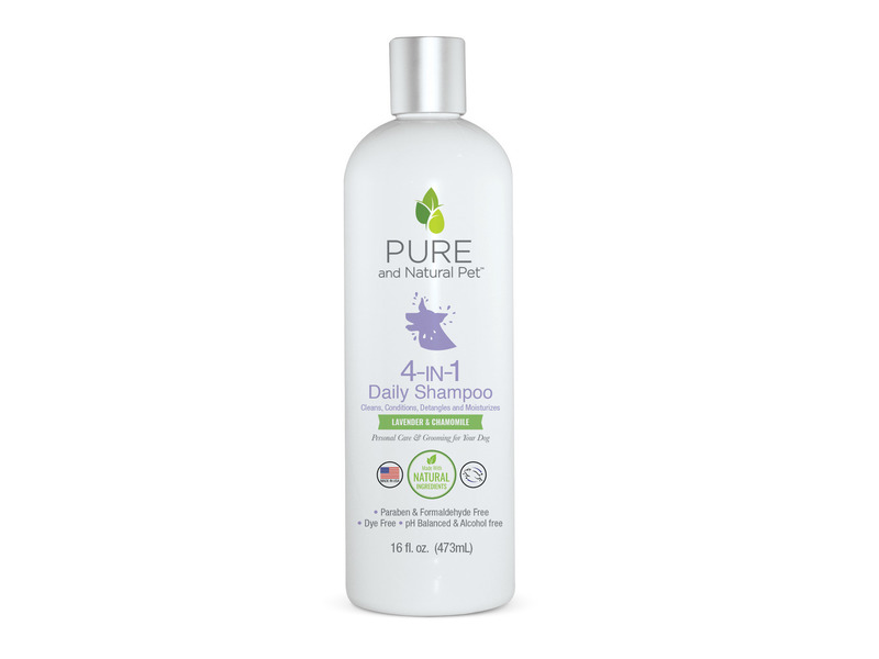 Pure & Natural Pet 4-in-1 Daily Shampoo, 16 fl oz