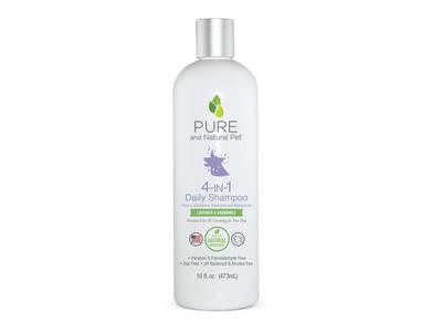 Pure & Natural Pet 4-in-1 Daily Shampoo, 16 fl oz