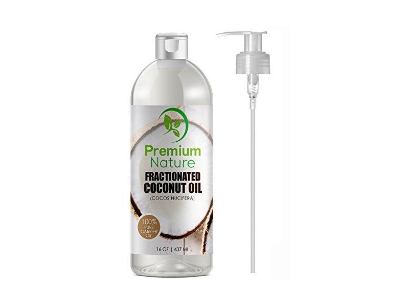 Premium Nature Fractionated Coconut Oil 16 Oz