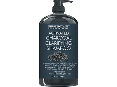 First Botany Activated Charcoal Shampoo, 16 fl oz