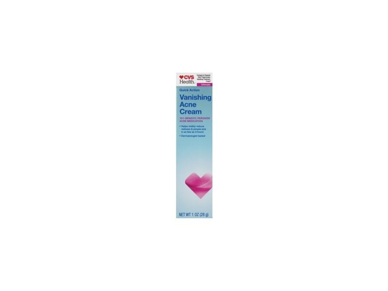 CVS Health Quick Action Vanishing Acne Cream