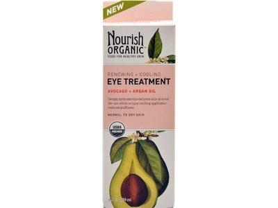 Nourish Organic Eye Treatment, Normal to Dry Skin, 0.5 fl