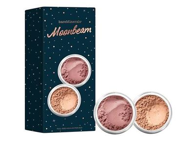 BareMinerals Moonbeam Blush & Highlighter Set, 0.14 oz - Image 1