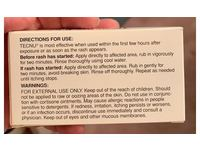 First Aid Only Tecnu Oak-N-Ivy Skin Cleanser, 4 Per Box - Image 4