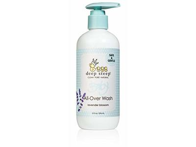 Deep Steep Baby All-Over Wash, 10 Ounces (Lavender Blossom)