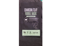 SOO AE Charcoal Clay Bubble Mask, Oxygen Bubbling, 0.35 oz - Image 3