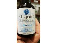 Sliquid Organics Natural Intimate Lubricant, 4.2 fl oz - Image 3