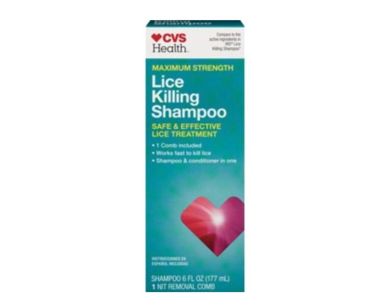 cvs maximum strength lice killing shampoo  6 fl oz ingredients and reviews