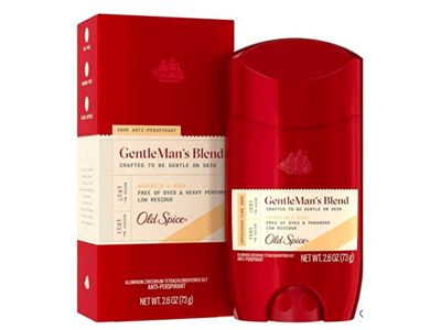 Old Spice Gentleman's Blend Antiperspirant, Mandarin & Musk, 2.6 oz/73 g